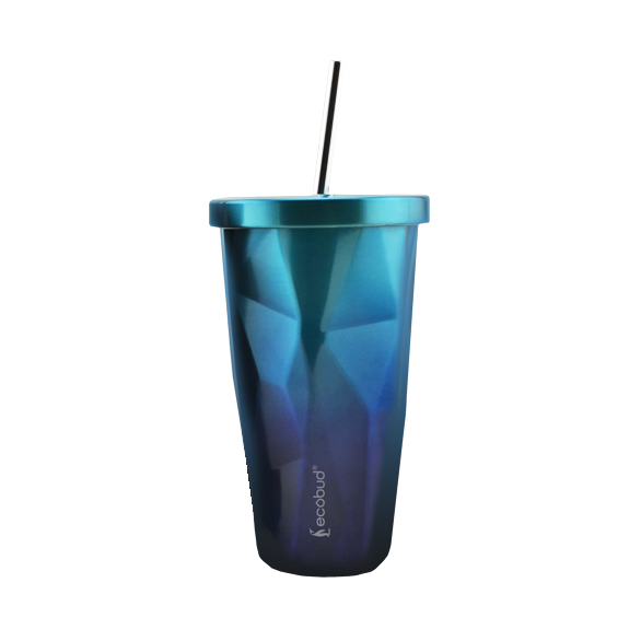 3f766c0e974 Stainless Steel Cup with Reusable Straw   ecobud®